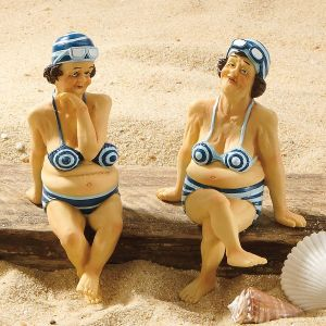 Shelf Sitter Bathing Beauties Figurines