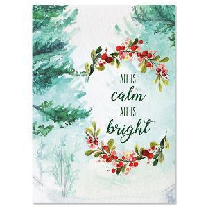 Classic christmas cards current catalog calm and bright christmas cards m4hsunfo