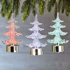 LED Christmas Tree Ornaments
