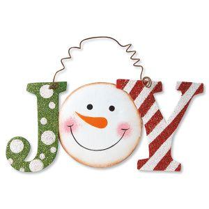 Metal Joy Snowman