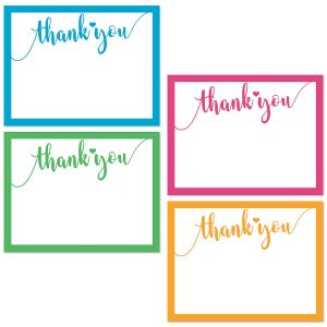 Heartfelt Thank You Cards