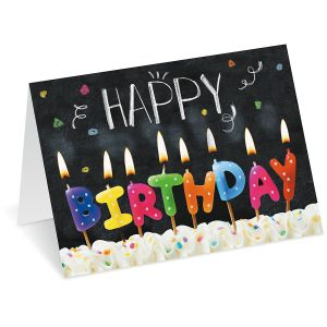 Birthday Bright Birthday Cards - BOGO