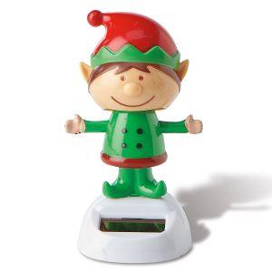 Elf Christmas Solar Dancer