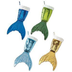 Mermaid Tail Christmas Stocking