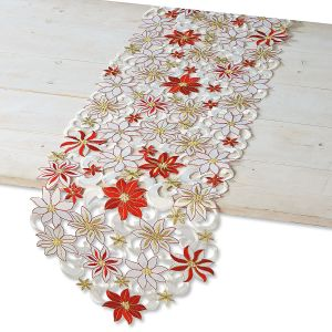 Diecut Christmas Table Runner
