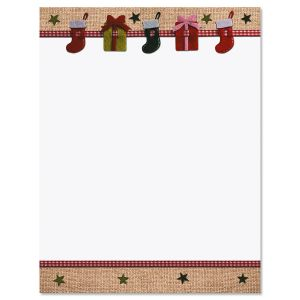 Christmas Crafts Christmas Letter Papers