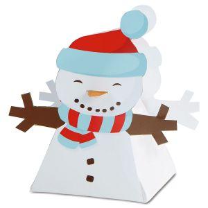 Snowman Favor Boxes