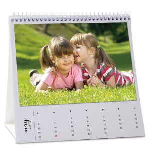 2018 DIY Mini Photo Easel Calendar