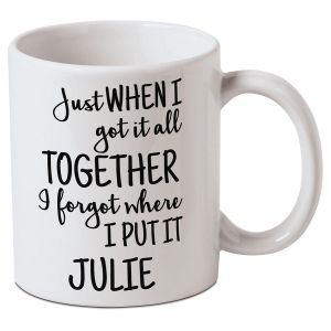 Personalized Got It Together Mug