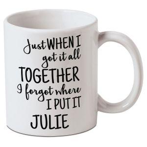 Personalized Got It Together Mug