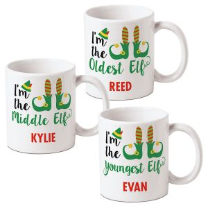 Personalized Elf Mugs