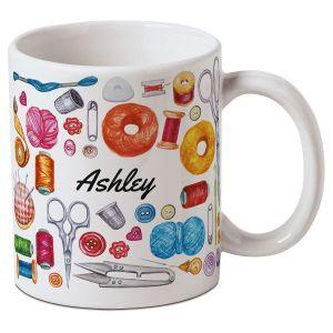 Personalized Sewing Mug