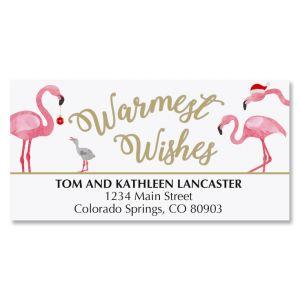 Flamingo Deluxe Address Labels