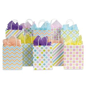 Spring Patterns Gift Bags