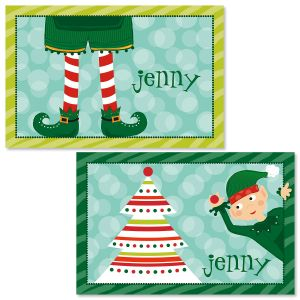 Personalized Elf Placemat