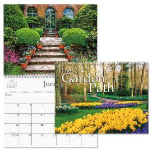 2019 Garden Path Wall Calendar