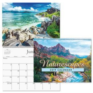 2019 Naturescapes Wall Calendar