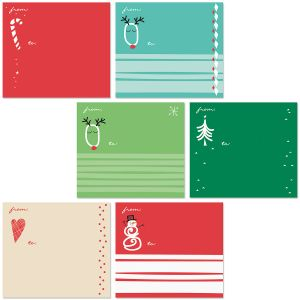 Holiday Package Labels