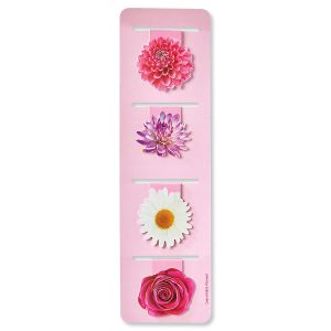 Magnetic Flower Bookmarks - BOGO