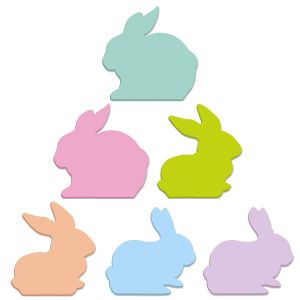 Bunny-Shaped Notepads