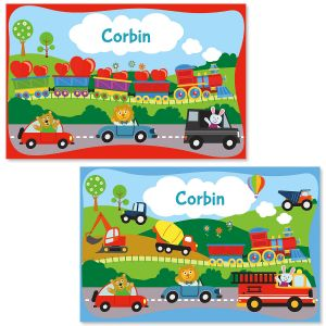 Train Personalized Kids' Placemats