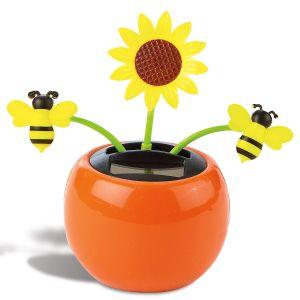 Sunflower Solar-Powered Dancing