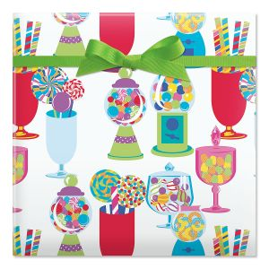 Birthday Sweets Jumbo Rolled Gift Wrap