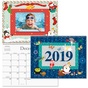 2019 Celebrations Scrapbook Wall Calendar