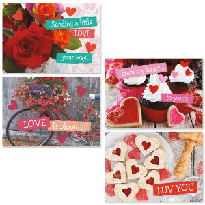 Love is Bloomin' Valentines Day Cards