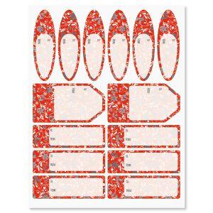 Red Fantasia Labels