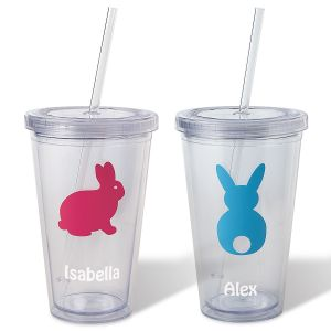 Personalized Easter Acrylic Beverage Cups