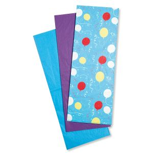 Party Balloons Tissue Value Pack