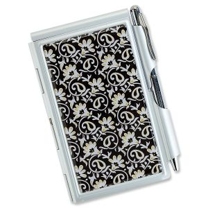 Ornamental Notepad and Pen Set