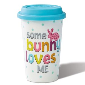 Some bunny Loves Me Travel Mug