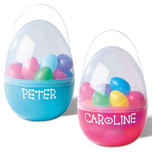 Kids Personalized Plastic Easter Egg