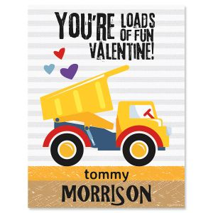 Dig You Personalized  Valentines