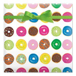 Sweet Sinkers Jumbo Rolled Gift Wrap