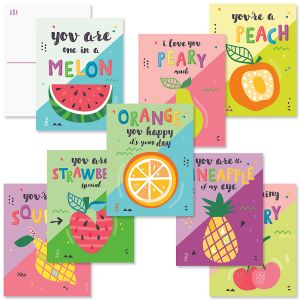 Fruity Postcards