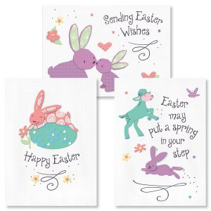 Bunny Smiles Easter Cards