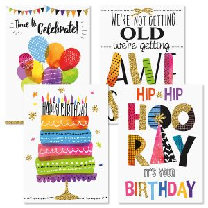 Contemporary Birthday Greeting Cards