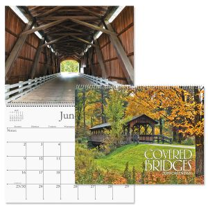 2019 Covered Bridges Wall Calendar