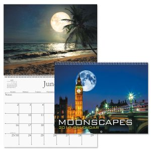 2019 Moonscapes Wall Calendar