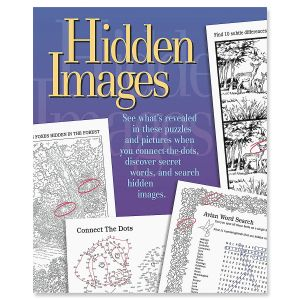 Hidden Images Search Book