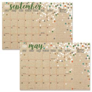 2019-2020 Kraft Calendar Pad