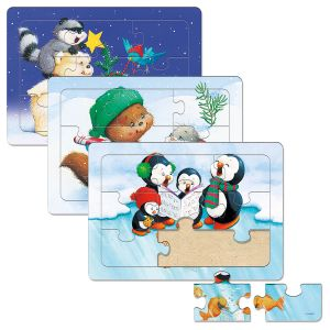Children's Christmas Tray Puzzles