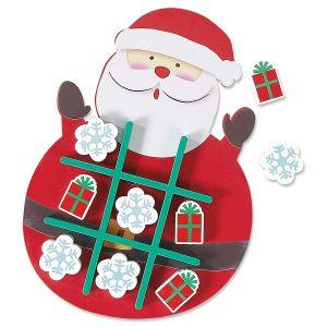 Tic Tac Toe Santa
