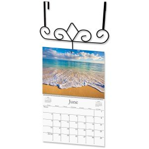 Over the Door Hanger Calendar Holder