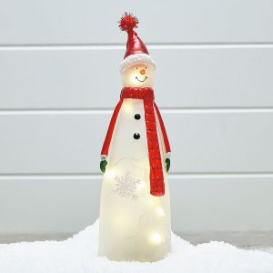 light up led snowman