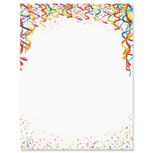 Celebration Confetti Letter Papers