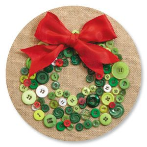 Button Wreath Seals